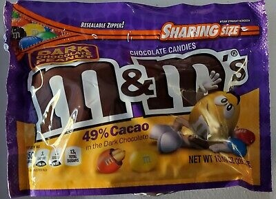 NEW Caramel M/&M/'s 9.6 Oz With Resealable Bag VHTF Rare FREE WORLDWIDE SHIPPING