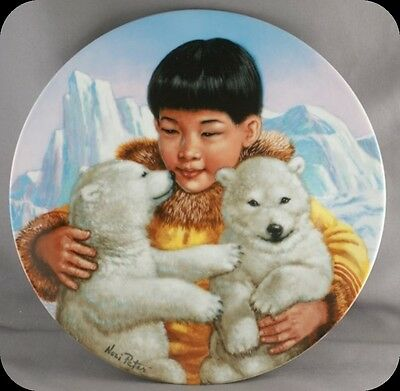 Nori Peter The Cherished Ones Children of the North Collector Plate