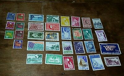 Foreign Stamp Collection 1950s?-Viet Nam, Laos,