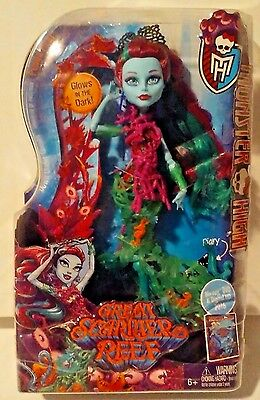 Monster High Great Scarrier Reef DownUnder Ghouls Posea Reef New MOSC