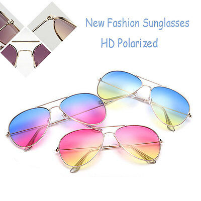 Men Women Sunglasses Retro Classic Outdoor HD Polarized Eyewear UV Glasses HIY