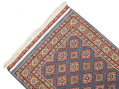 122x79 CM Tappeto Carpet Tapis Teppich Alfombra Rug Kashmir (Hand Made)