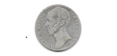 Netherlands 1848 Silver 1 Gulden Coin(Cns 511)
