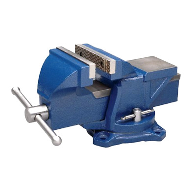 """Wilton Bench Vise, Jaw Width 4-Inch, Jaw Opening 4"""" - Vises Strength Steel, New"""