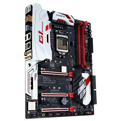 Placa Gigabyte Z170X-Gaming 7 Ddr4 X4 / Usb 3.0 / Hdmi / Dp - No (Io-Shield)