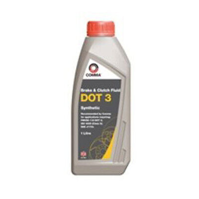 Comma BF1L  DOT 3 Synthetic Brake Fluid 1 Litre