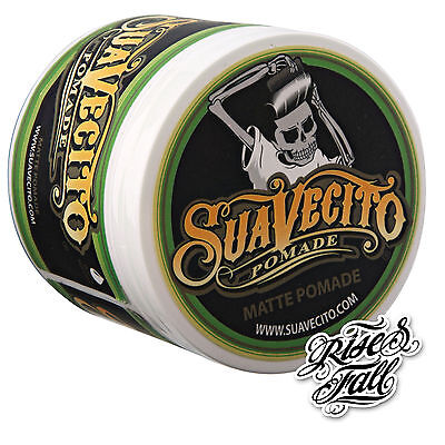 NEU/NEW - SUAVECITO - Matte Hold Pomade 113g | Wasserbasis | Tattoo | Barber