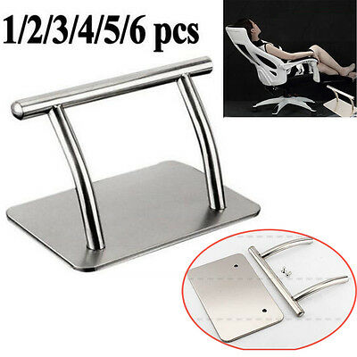 Heavy Duty Stainless Steel Footrest Barbers Hair Chair Salon Equipment UK STOCK
