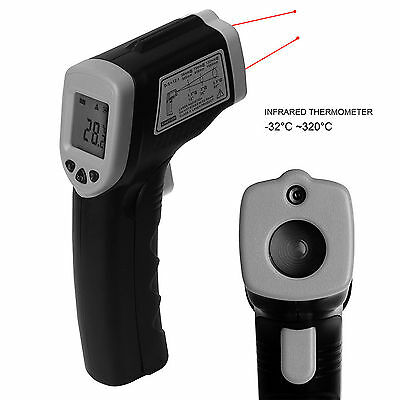 Handheld Digital LCD Temperature Thermometer Laser Gun IR Infrared Non Contact