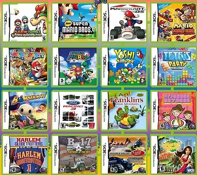 Nintendo games for DS/DSi/2DS/3DS/3DS XL