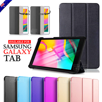 "Magnetic Smart Leather Case Cover Samsung Galaxy Tab A 7.0"" 8.0"" 10.1"" 2019 10.5"