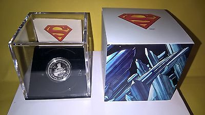 2013 $10 SILVER COIN 75th ANNIVERSARY OF SUPERMAN VINTAGE,EXTREMELY RARE