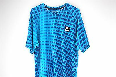 Fila Player Exclusive Men's Tennis Shirt Top - Size XL Rare