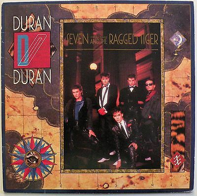 DURAN DURAN 'Seven And The Ragged Tiger' (EMC 1654541) Vinyl LP Album - EX/VG+