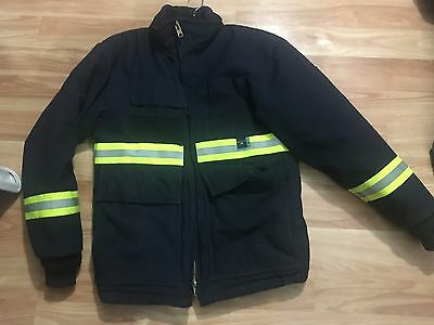 Korbana Fire Resistant Nomex Insulated Winter Work Coat Made In USA Men S Small