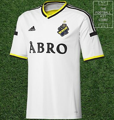AIK Stockholm Away Shirt -  Official adidas Rare Football Shirt -Mens- All Sizes