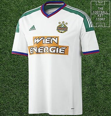 Rapid Vienna Away Shirt -  Official adidas Rare Football Shirt - Mens- All Sizes