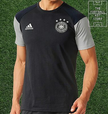 Germany Training T-Shirt - Official adidas Football Tee - Deutschland - Mens