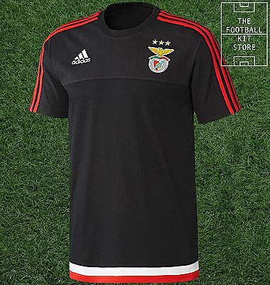 Benfica Training Shirt -  Official adidas Boys Football Top - All Sizes