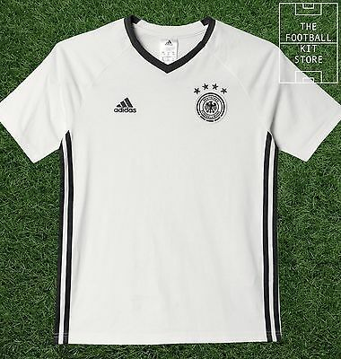 Germany Training Shirt -  Official adidas Boys Football Top - All Sizes