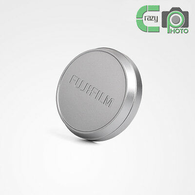 for FUJI Fujifilm X100 X100S X100T Metal Front Lens Cap - SILVER High Quality