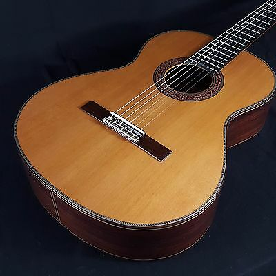 Alhambra 7P 7 P All Solid Classical Nylon String Guitar w/ Logo'd Hard Case
