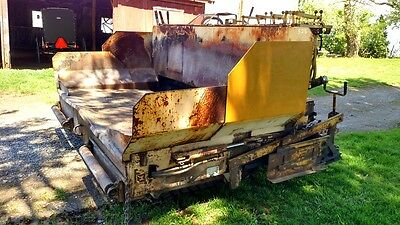 GEHL T650B Asphult PAVER Pucket Brothers T650 Paves up to 12 Foot NICE! 650
