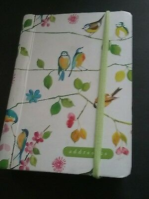 Watercolor Birds Address book