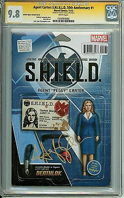 AGENT CARTER: S.H.I.E.L.D. 50th Action Figure Variant CGC 9.8 SS Hayley Atwell