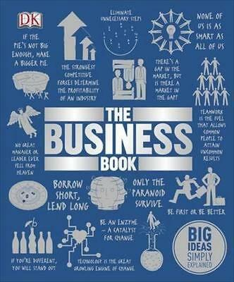 NEW The Business Book By DK Hardcover Free Shipping