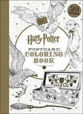 NEW Harry Potter Postcard Coloring Book By Scholastic Book Format Not Supplied
