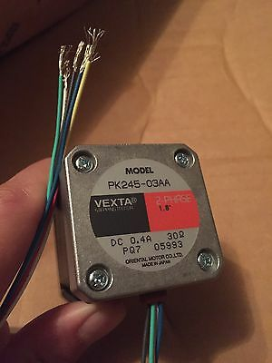 NEW VEXTA 2-PHASE STEPPING MOTOR PK245-03AA Oriental Motor