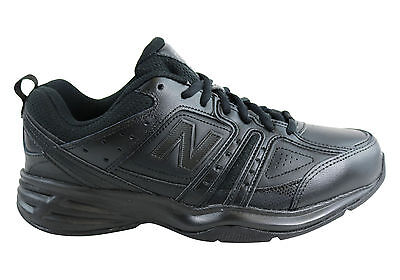 New New Balance Mens Mx409Bk2 Leather Black Cross Training Shoes (4E Width) Extr