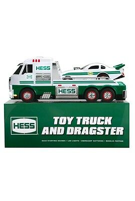 2016 Hess Toy Truck And Dragster