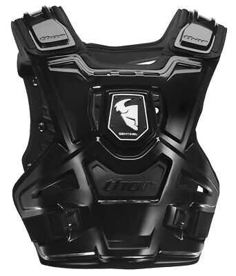 THOR MX Motocross SENTINEL CE Chest Protector/Roost Guard (Black) Adult