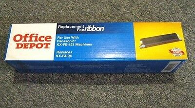 NEW Office Depot Brand for Panasonic KX-FB 421 Fax Ribbon OD KX-FA94 995-864