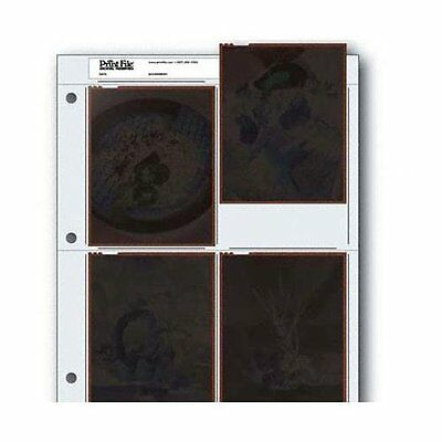 Archival Negative Pages Holds Four 4 x 5 Inches Negatives or Transparencies, of