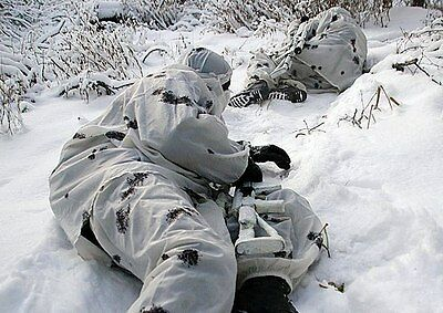 Russian Army KLYAKSA Nylon White Winter Camouflaged Suit 52-70