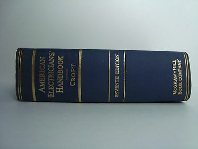 Crofts American Electricians' Reference Handbook 7th Edition