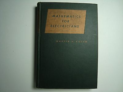 Mathematics for Electricians by Martin Kuehn Book