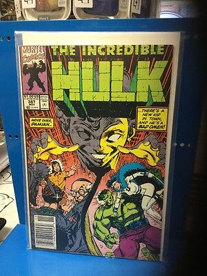 The Incredible Hulk #387 Marvel Comics