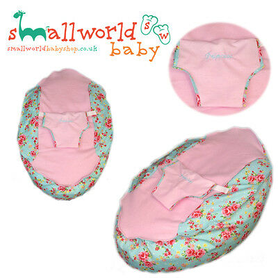 Personalised Vintage Floral Baby Bean Bag (NEXT DAY DISPATCH)