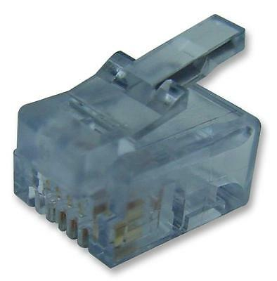 RJ11 PLUGS STRANDED WIRE/FLAT Connectors Modular
