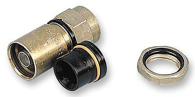 SEALED F CONNECTOR RG6 + NUT SEAL Connectors RF/Coaxial, SEALED F CONNECTOR
