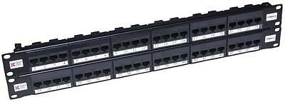 PATCH PANEL 48 WAY UTP CAT6 ELITE Connectors Patch Panels, PATCH PANEL, 48