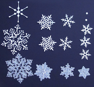 Craft-House 'Snowflake Medley' 4 pcs Christmas Die Set CHD31
