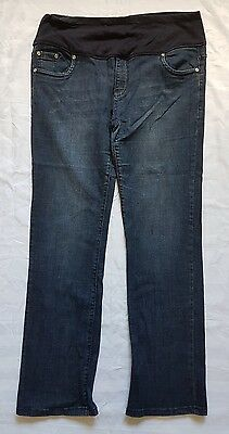 Ladies size XL/16-18 Straight Leg Maternity Jeans - Angel