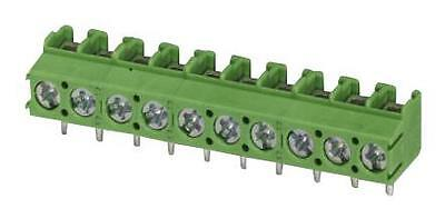 TERM BLOCK PCB SCREW 5.0MM 3WAY Connectors Terminal Blocks