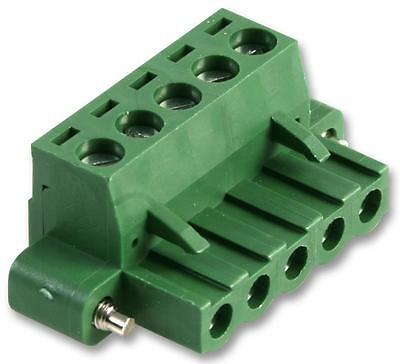 TERMINAL BLOCK FEMALE FLANGED 5 POLE Connectors Terminal Blocks