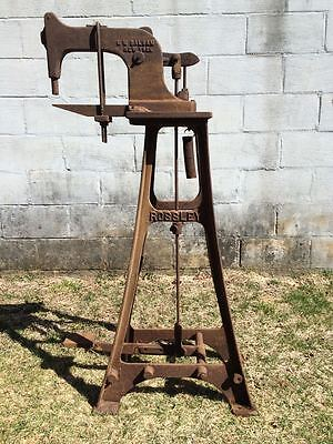 Rossley Kick Press Old Iron Industrial Piece Non-Working